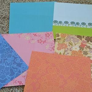 Scrapbooking Paper Bundle